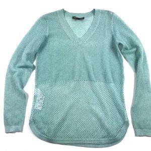 Tommy Bahama Metallic Open Knit Holiday Sweater XS
